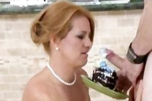 ginger haired mother i bj