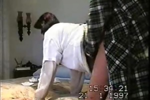 homemade anal quickie