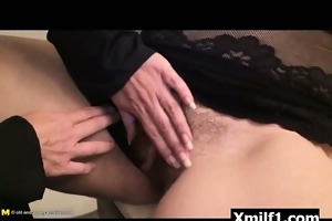 vibrant cum-hole mama mother i drilled wildly