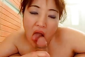 keiko etou japanese mamma titties and twat screwed