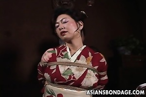 japanese d like to fuck in kimono acquires bound