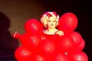 cabaret burlesque dirty martini baloon