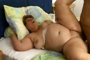 large lady hetty fat granny drilled nice