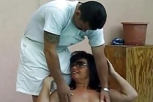 hawt breasty granny screwed by huge penis