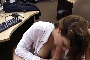 hawt milf caught cheating sucks a mean penis