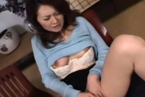 japanese oriental mamma being fingered