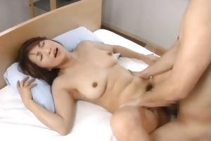 slutty japanese older hotties engulfing