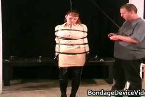 perverted d like to fuck acquires bound and wet
