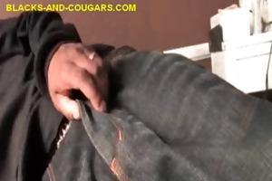 cougar nurse helps dark