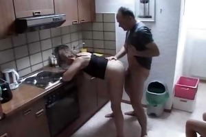 one old cock satisfies granny and legal age