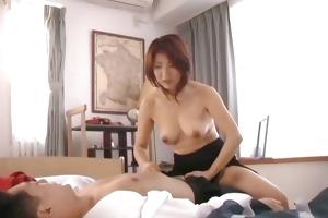 horny japanese older women engulfing