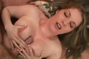 slutty and luxurious mama masturbates a biggest