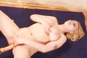 blonde mum violated by a gigantic sex toy part1