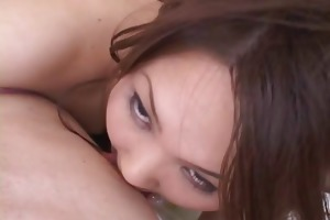 sexy ball batter facial after a lengthy and