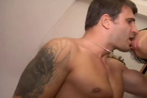 hot french housewife receive screwed