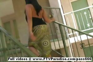casandra effortless going teenage charming hottie