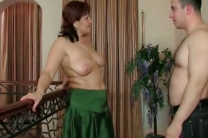 bi boobed doxy acquires that is soaked bawdy cleft