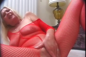 naughty granny samantha is highly horny!
