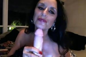 non-professional granny livecam sex toy