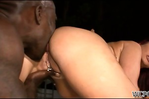hot mother i t live without large knob from behind