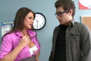 large tit brunette hair mother i pornstar teacher