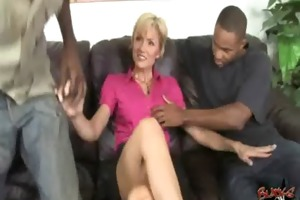 cougar copulates a giant darksome monster jock 16