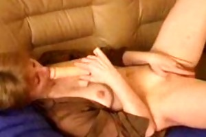 lesbian cougar seduces a constricted legal age