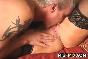 older pair having sex