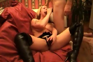 d like to fuck in boots homemade sex tape