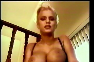 charming blond nurse fuck and facial