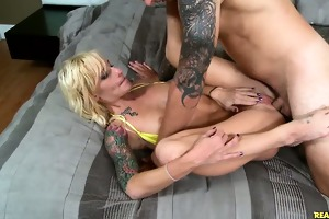 this sexy mother i likes getting rammed.