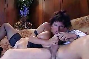 italian mature aunty fucking with juvenile lad