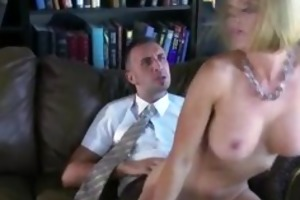 office whore banging her colleague