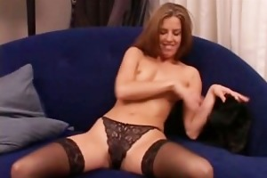 sexy wife in hot underware and nylons