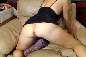 naughty 47 year old whore teasing on webcam, part