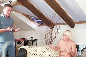 slutty granny seduces her son in law