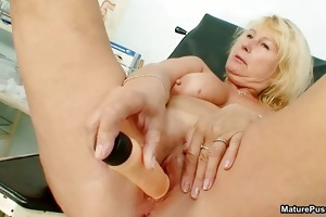 lewd aged mamma gets an big o from part2