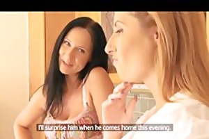 mom breasty wives try lesbo sex