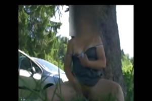 outdoor masturbation adventures german housewife