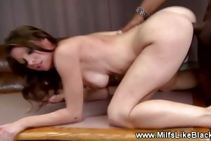 lewd white mother i drilled by darksome pecker