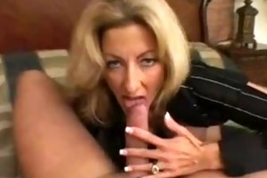 lexi carrington is a older blond with large fake