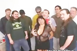 susies gang group sex bukkake party with indecent