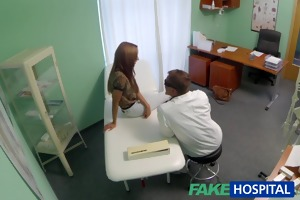 fakehospital spying on hot juvenile honey having