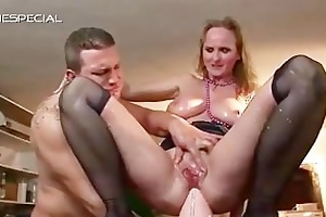 aged mother i receives all her holes filled part6