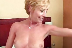 blonde excited aged slut gang gangbanged and