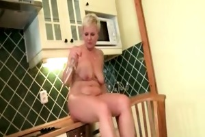 wicked aged whore acquires lustful taking
