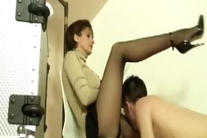 lady sonia makes juvenile sub take up with the
