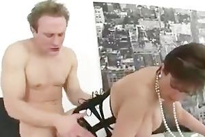 aged british femdom fuck