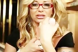 blond mother i with biggest marangos likes
