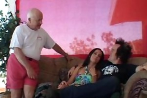 wicked and pretty wife group-fucked real admirable